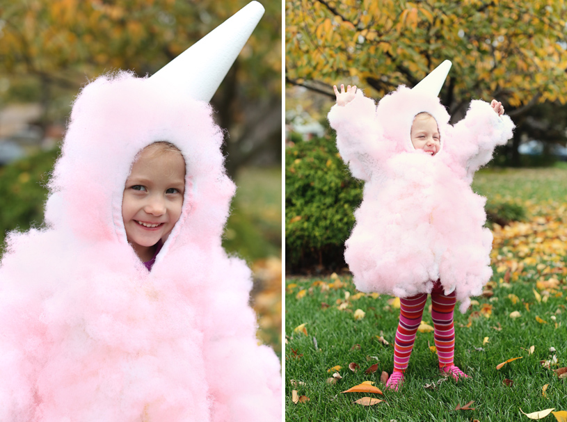 how to make a cotton candy costume